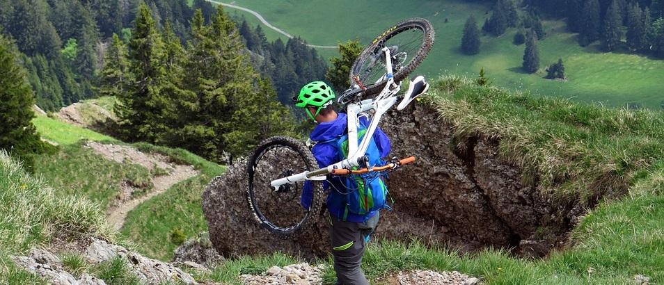 jazda na rowerze enduro