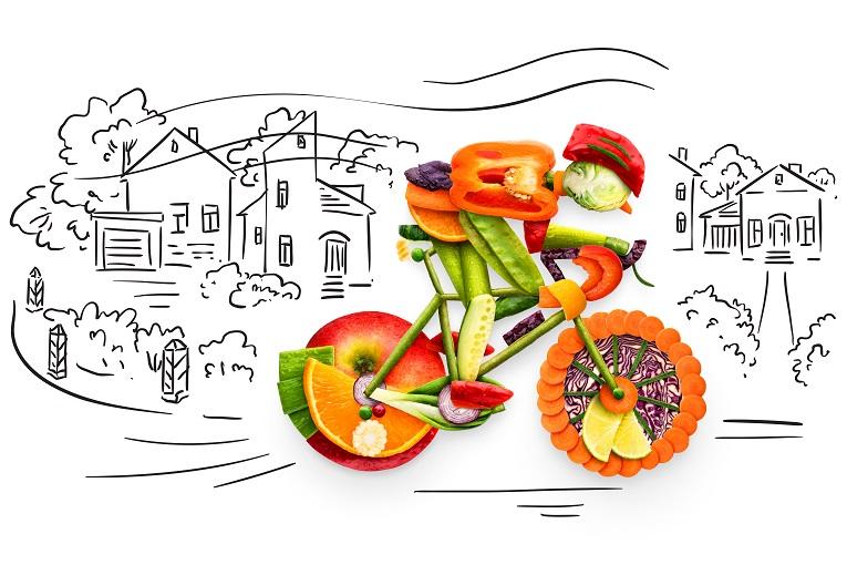 Spalanie kalorii na rowerze