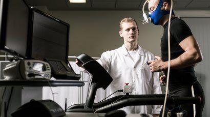 Badanie mózgu EEG u sportowców